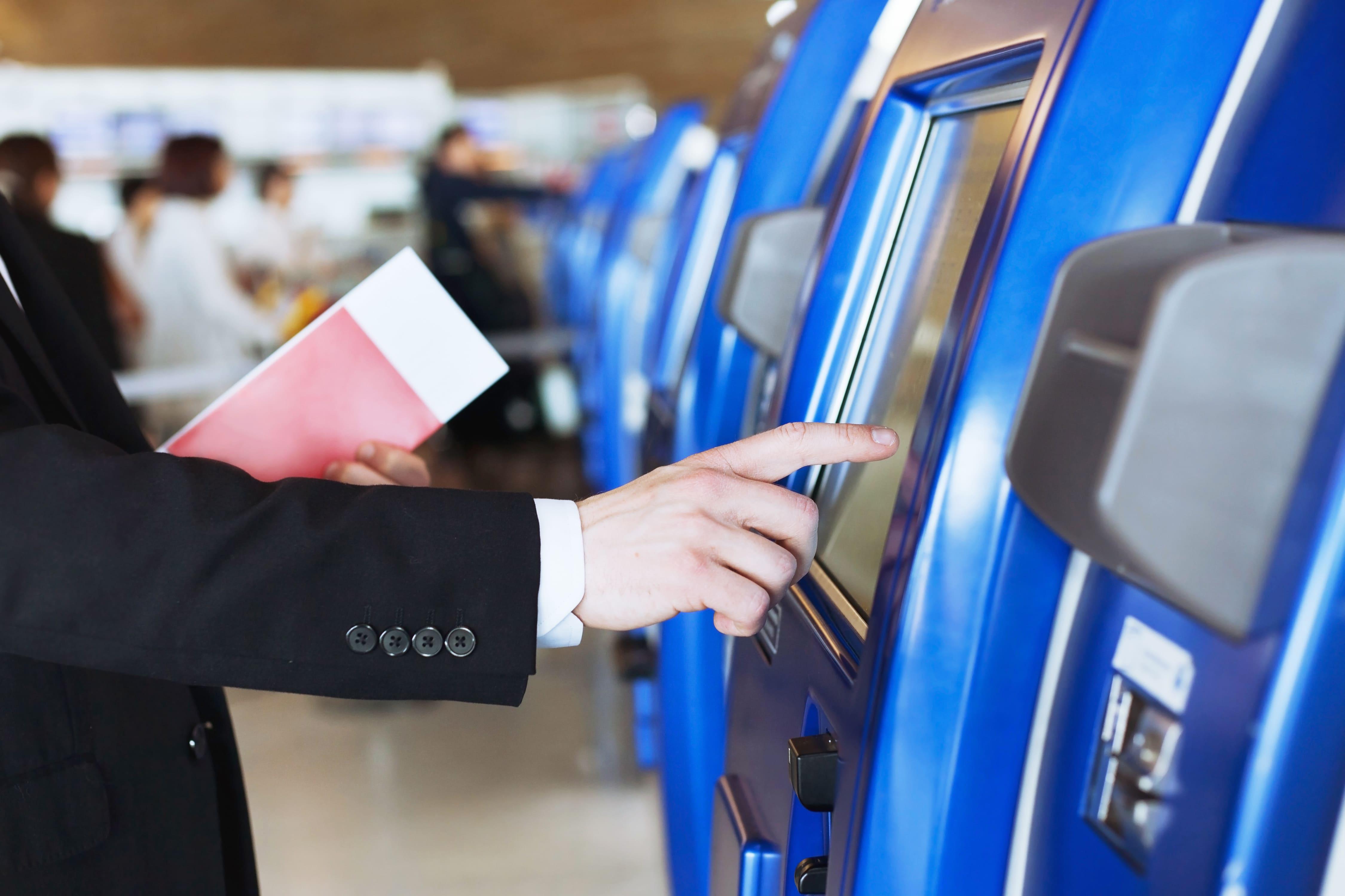 Airport Passport Check-In