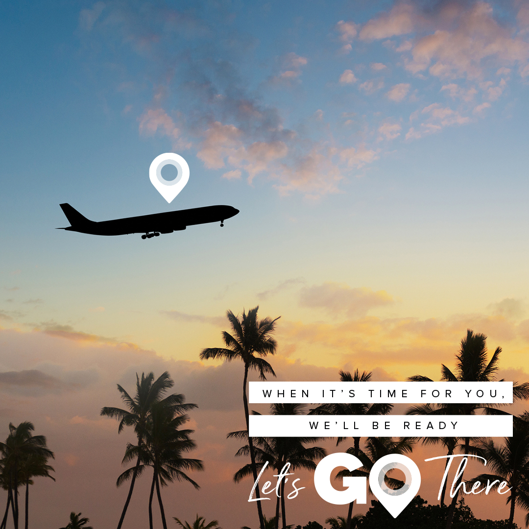 Let's Go There theme graphic
