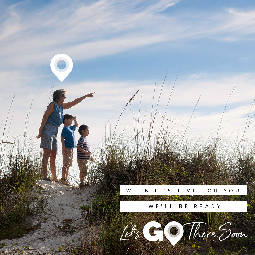 Let's Go There, Soon theme graphic