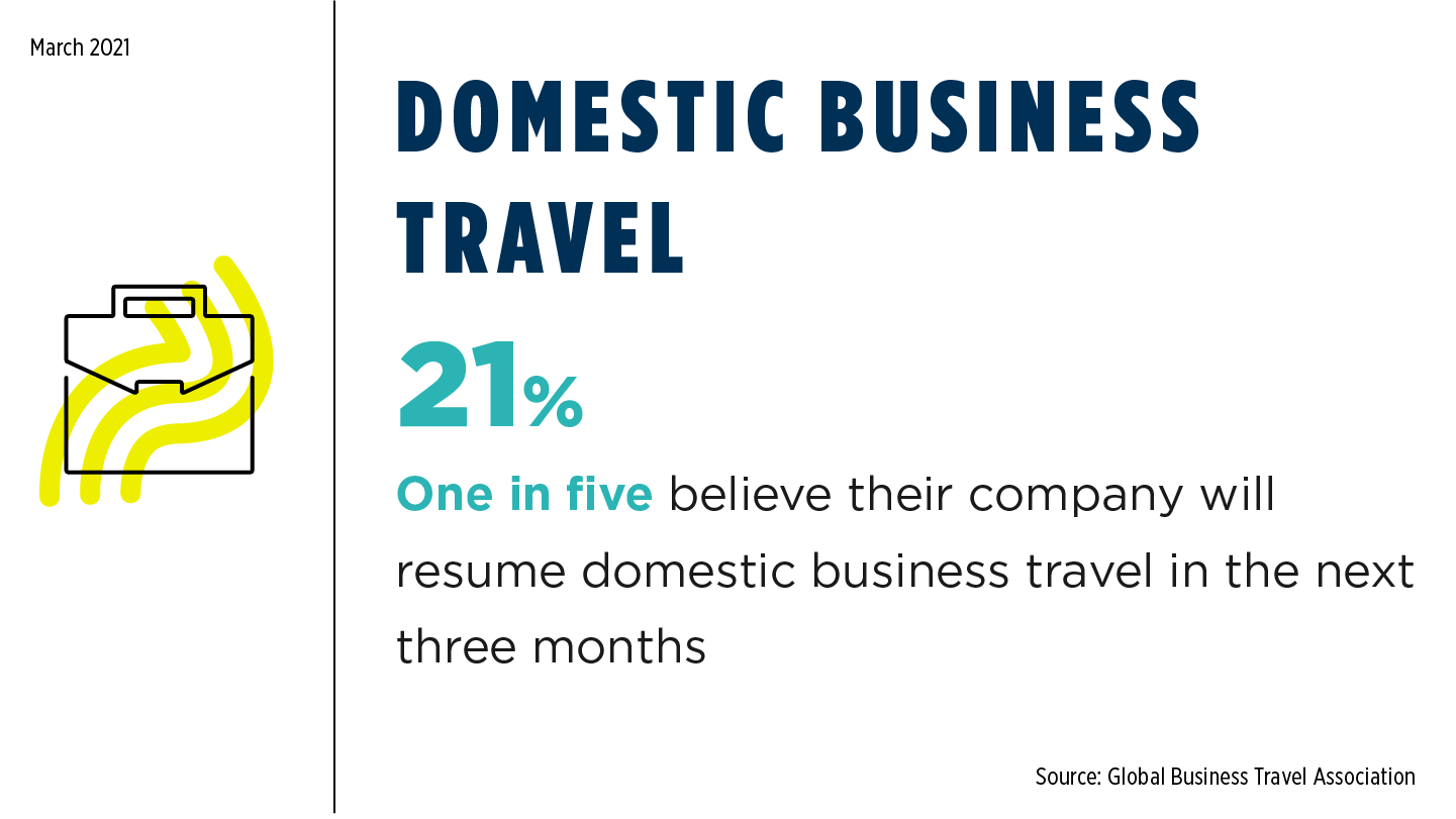 COVID Monthly - Domestic Business Travel March 2021