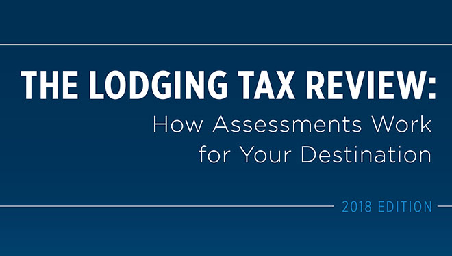 media The Lodging Tax Review, 2018 Edition