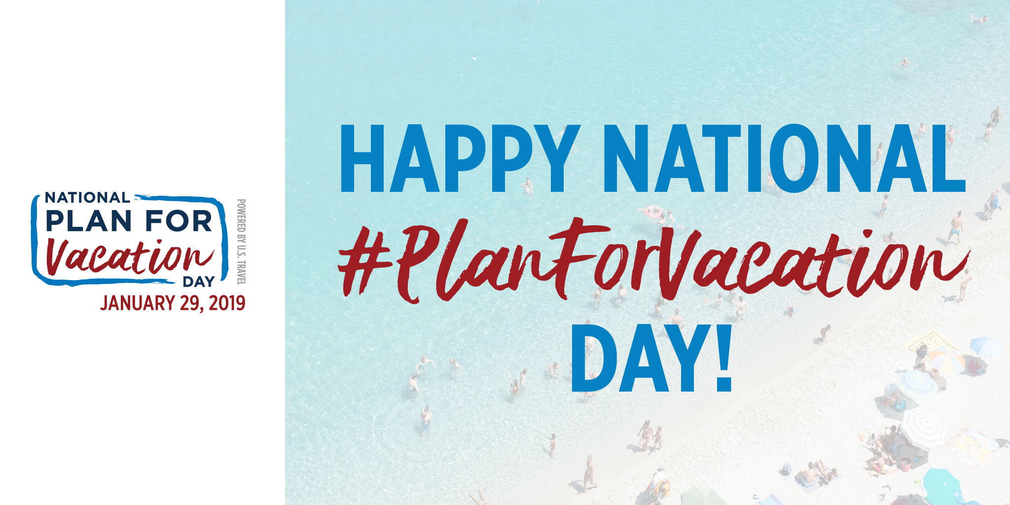 Happy National Plan for Vacation Day