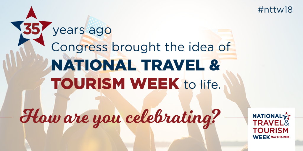 35 years ago, Congress brought the idea of NTTW to life. How are you celebrating?