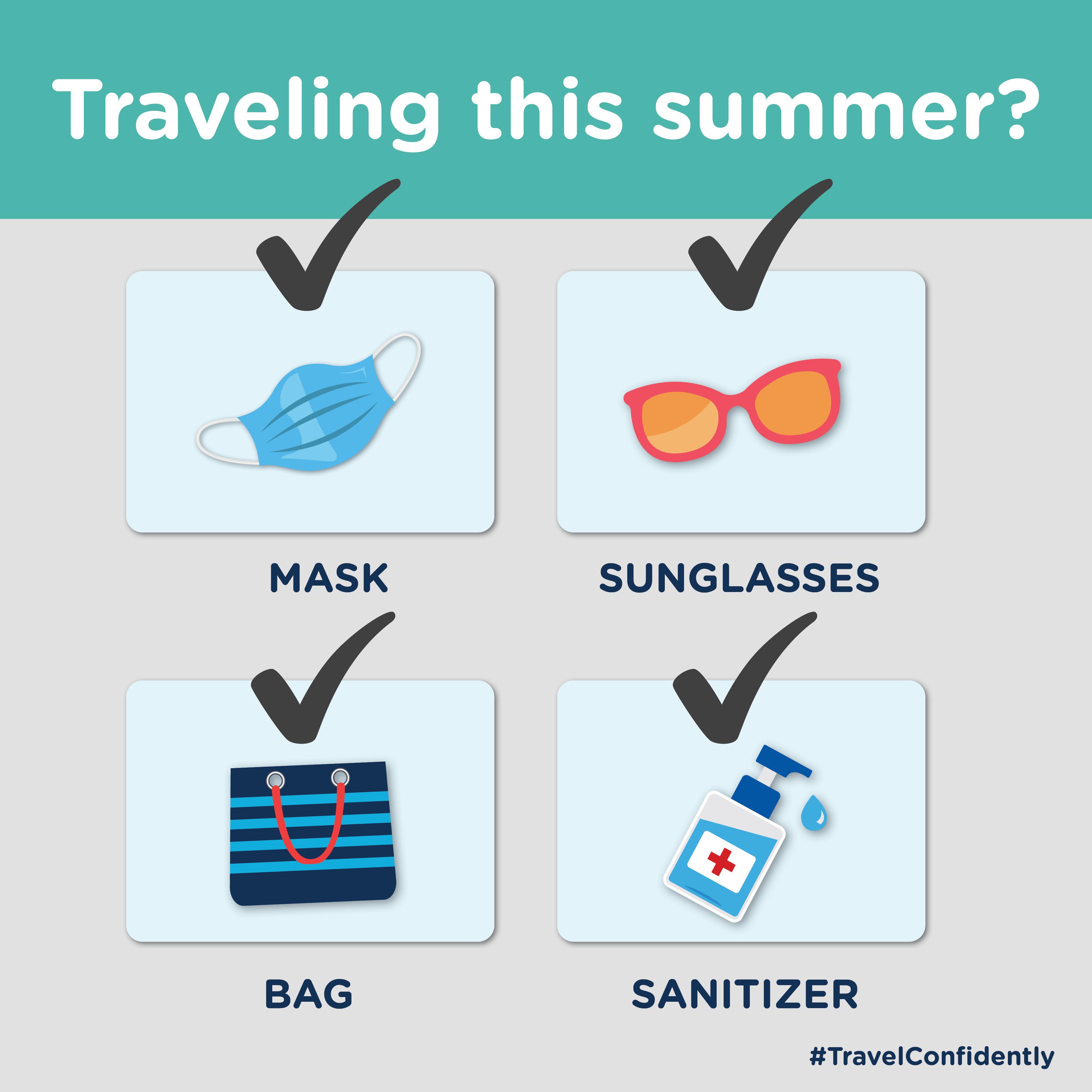 Travel Confidently Summer
