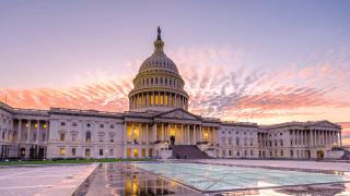 U.S. Capitol at Sunrise