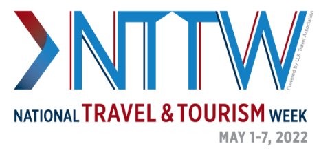 National Travel and Tourism Week 2022 Logo