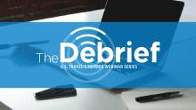 Debrief Webinar logo